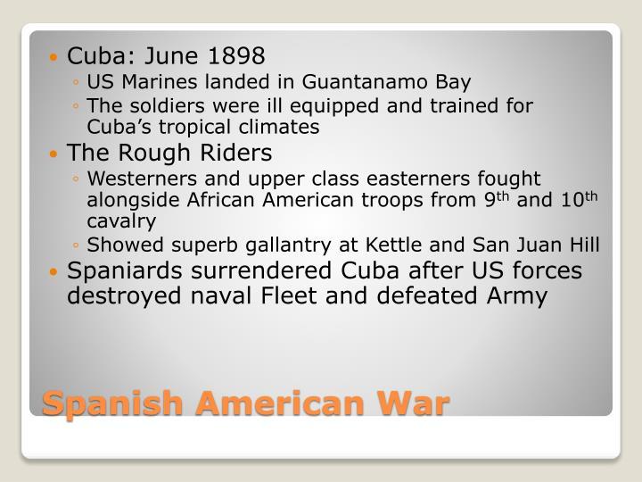 Cuba: June 1898