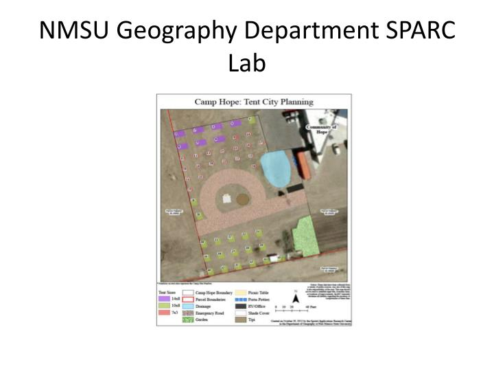 NMSU Geography Department SPARC Lab