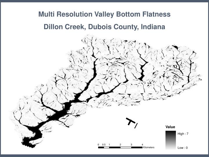 Multi Resolution Valley Bottom Flatness
