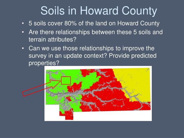 Soils in Howard County