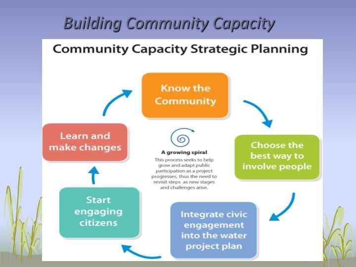 Building Community Capacity