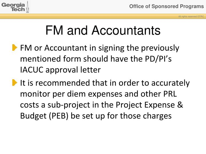 FM and Accountants