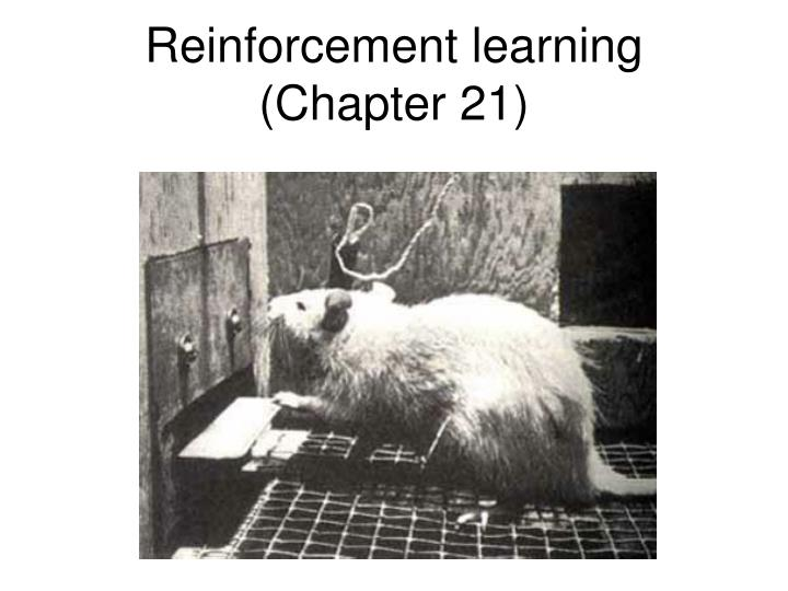 Reinforcement learning chapter 21