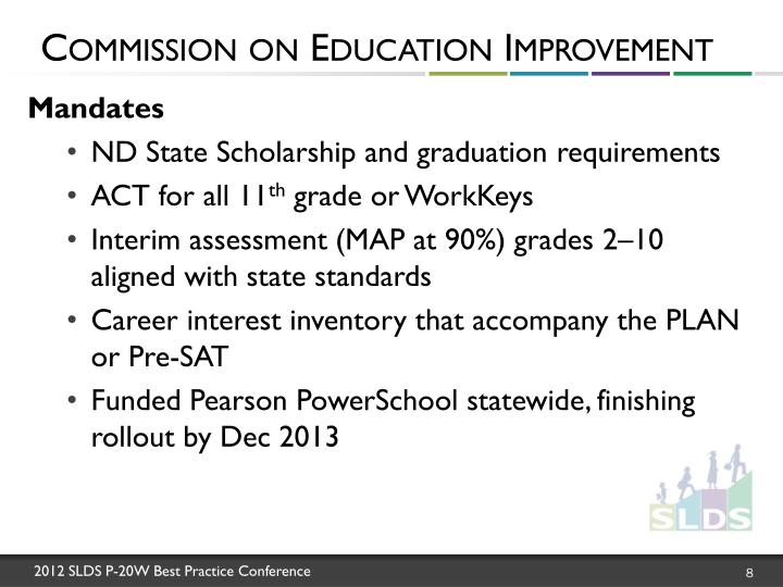 Commission on Education Improvement