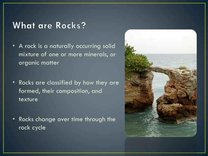 What are Rocks?