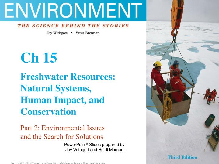 freshwater resource issue