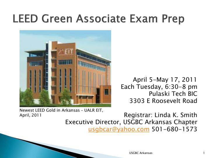 Leed green associate exam prep