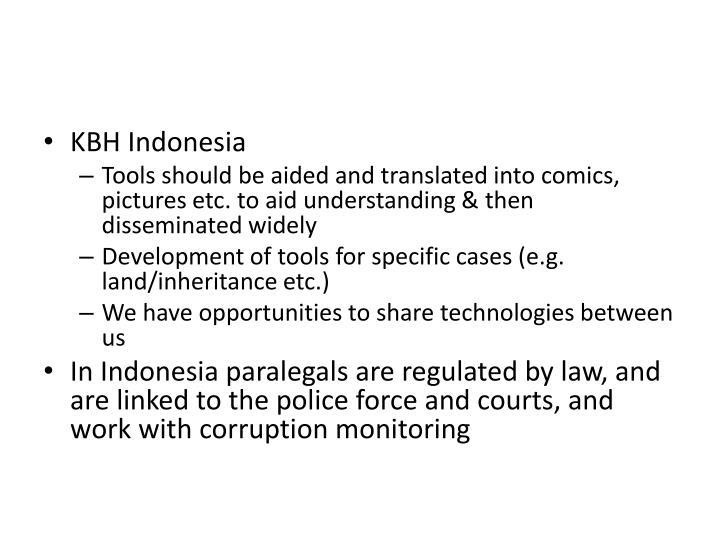 KBH Indonesia