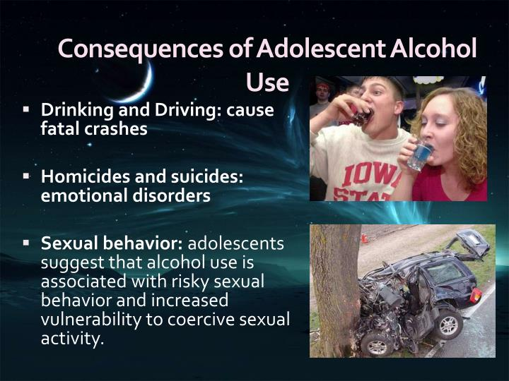 Consequences of Adolescent Alcohol Use