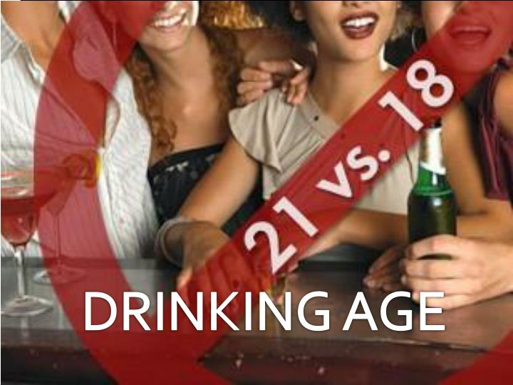 DRINKING AGE