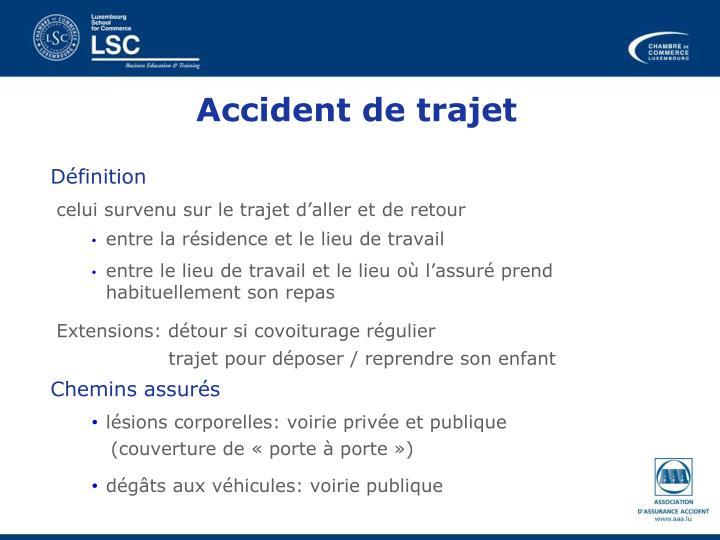Accident de