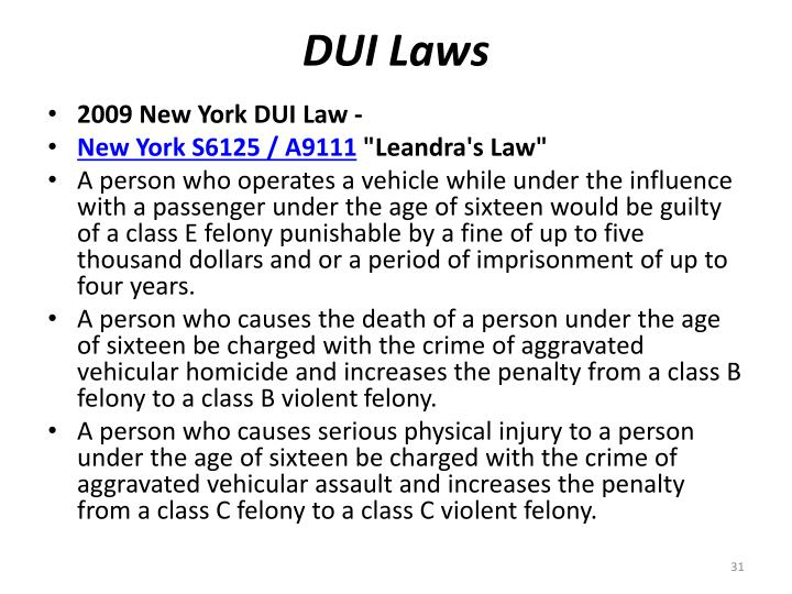 DUI Laws