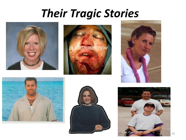 Their Tragic Stories