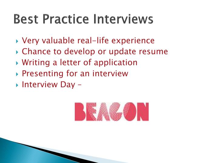 Best Practice Interviews