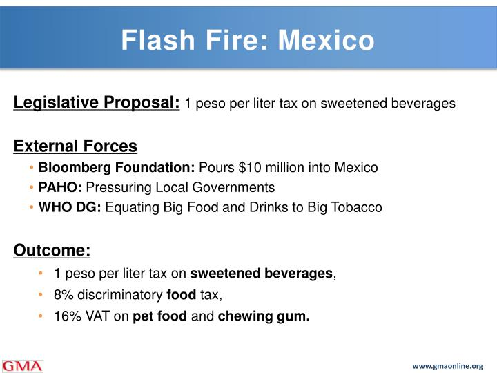 Flash Fire: Mexico