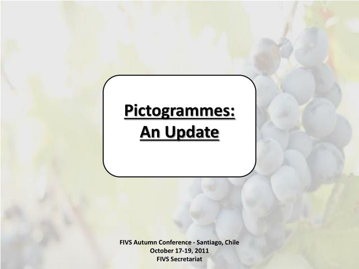 Pictogrammes: