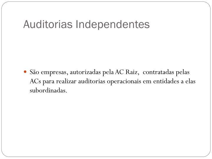 Auditorias Independentes