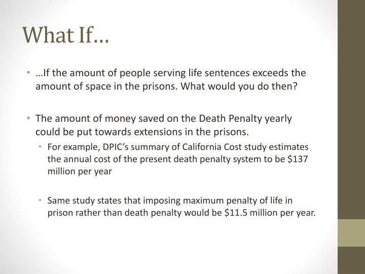 an analysis of the concept of death penalty sentence in the untied states In recent years several states have abolished the death penalty, replacing it with a sentence of life states and capital punishment to the united states.
