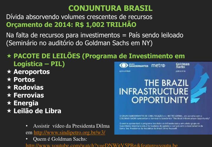 CONJUNTURA BRASIL