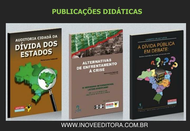 PUBLICAÇÕES DIDÁTICAS