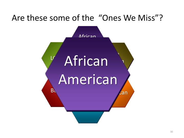 """Are these some of the  """"Ones We Miss""""?"""
