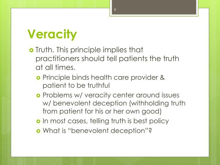 Veracity