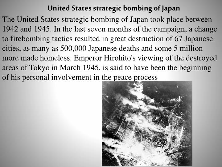 United States strategic bombing of Japan