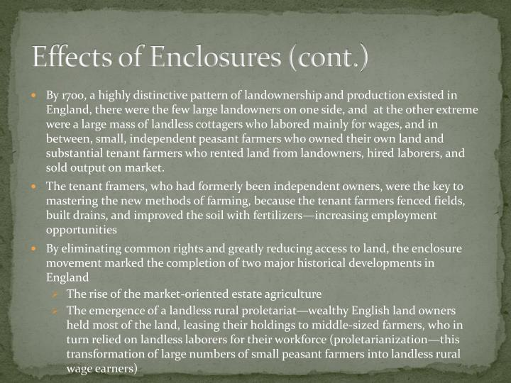 Effects of Enclosures (cont.)