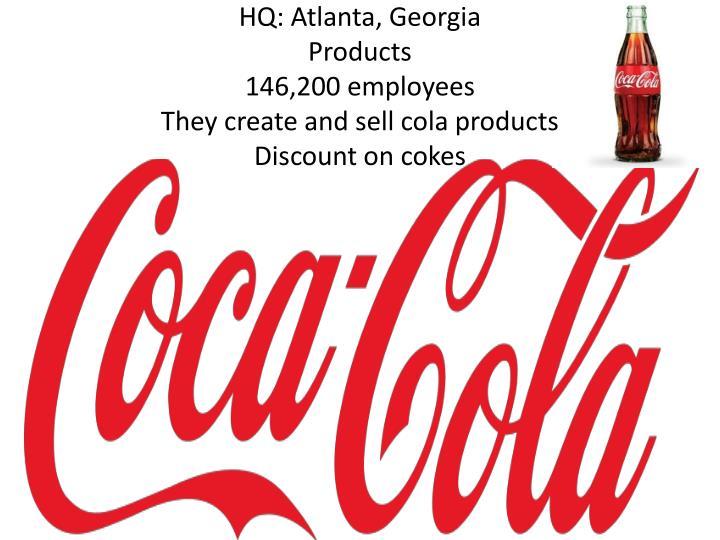HQ: Atlanta, Georgia