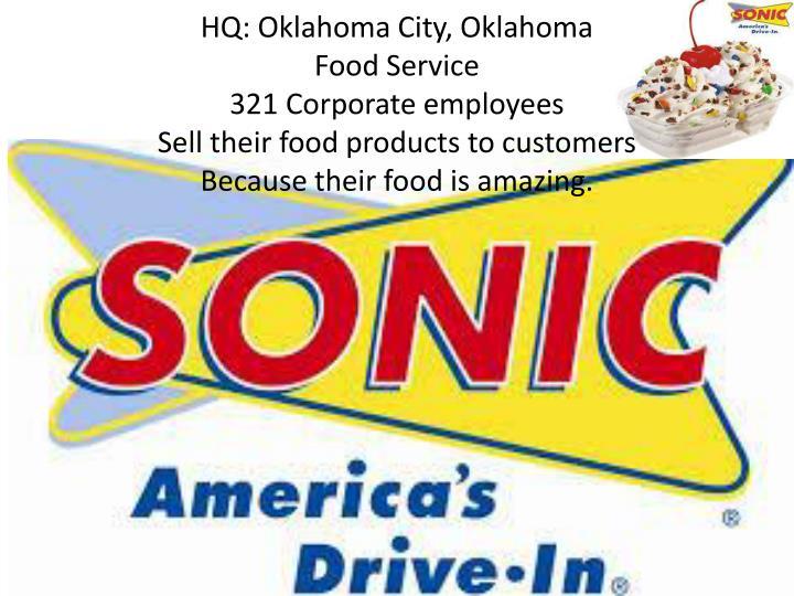 HQ: Oklahoma City, Oklahoma