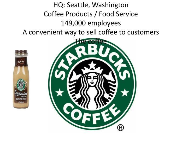HQ: Seattle, Washington