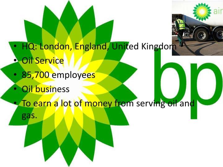 HQ: London, England, United Kingdom