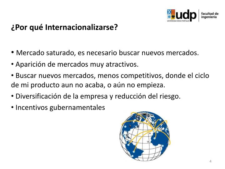 ¿Por qué Internacionalizarse