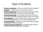 types of grabbers