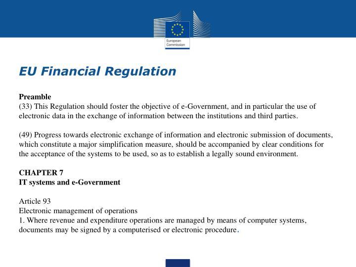 EU Financial