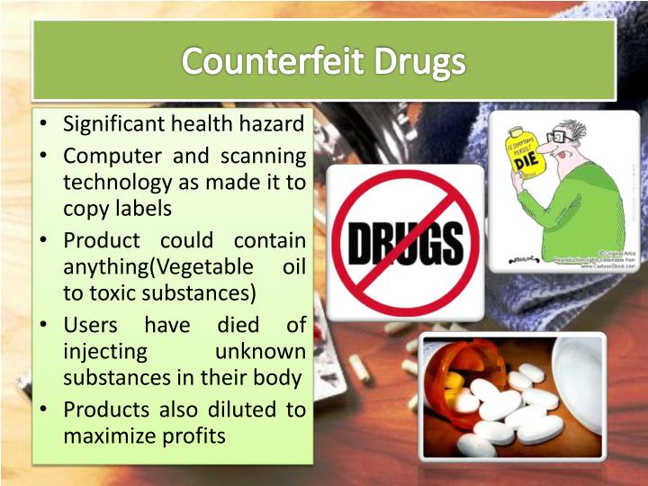 Counterfeit Drugs