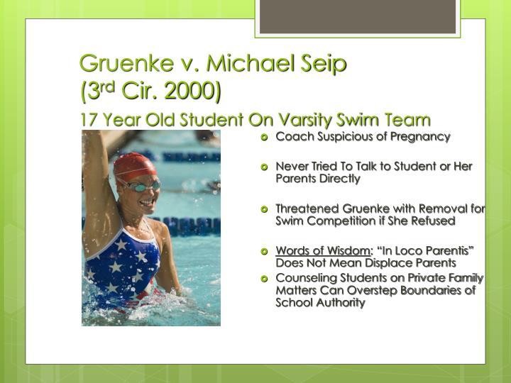 Gruenke v. Michael Seip
