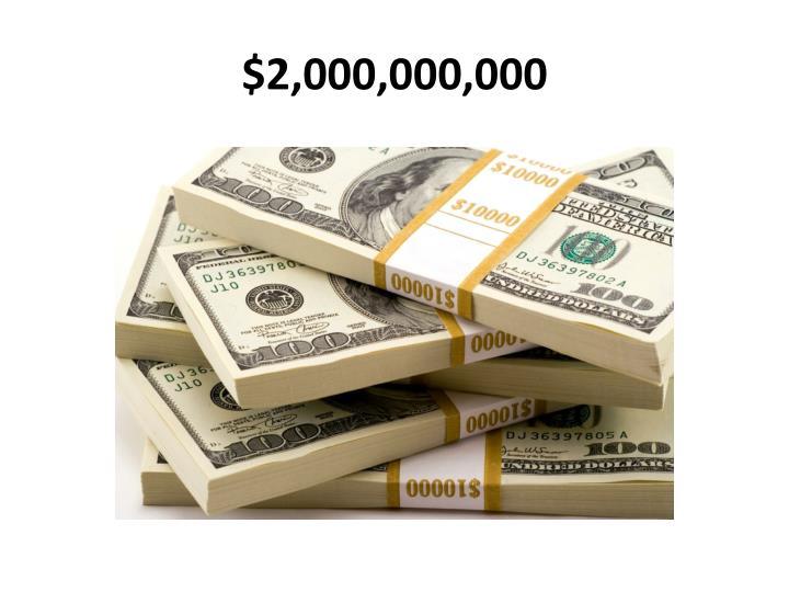 $2,000,000,000
