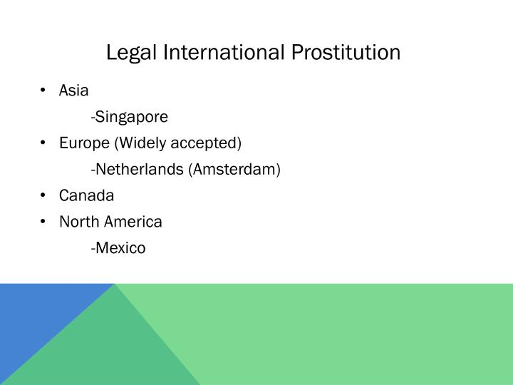 Legal International Prostitution