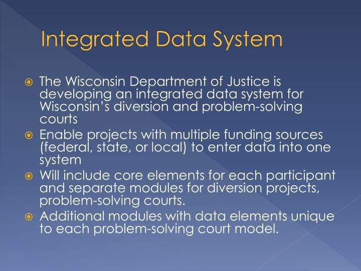 Integrated Data System