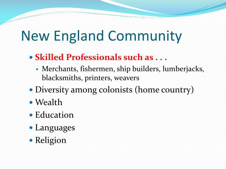 New England Community