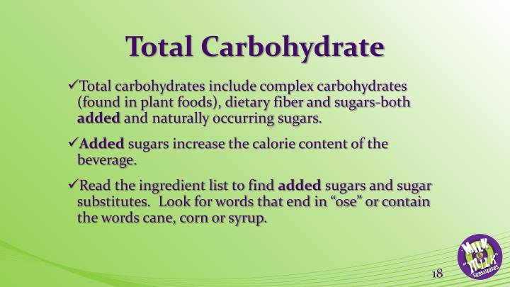 Total Carbohydrate