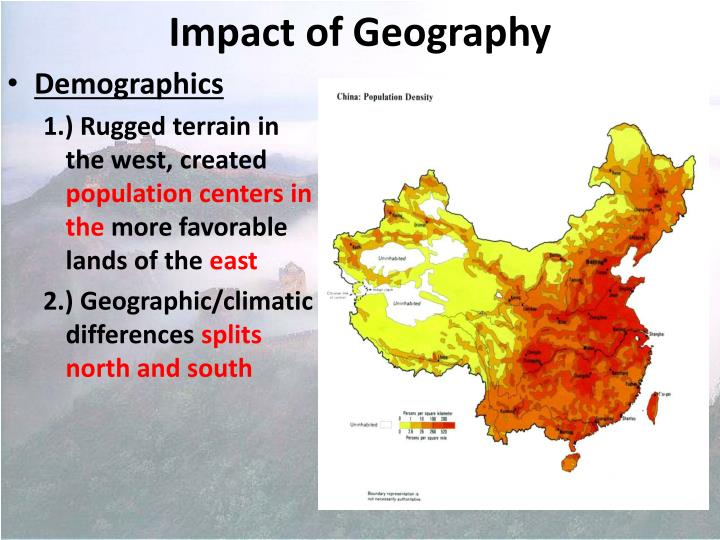 Impact of geography1
