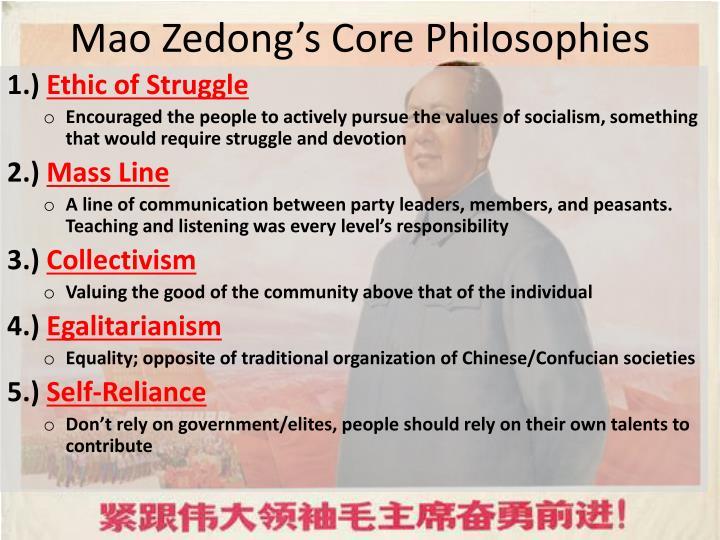 Mao Zedong's Core Philosophies