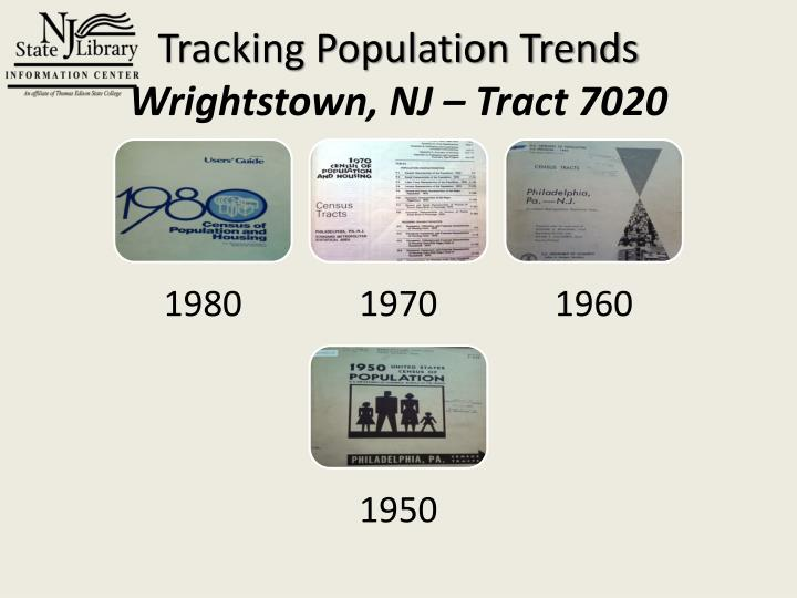 Tracking Population Trends