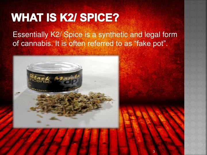 What is k2 spice