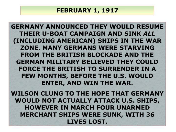 FEBRUARY 1, 1917