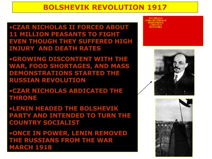BOLSHEVIK REVOLUTION 1917
