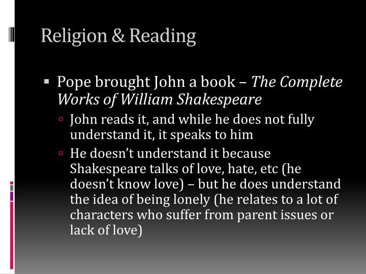 Religion & Reading
