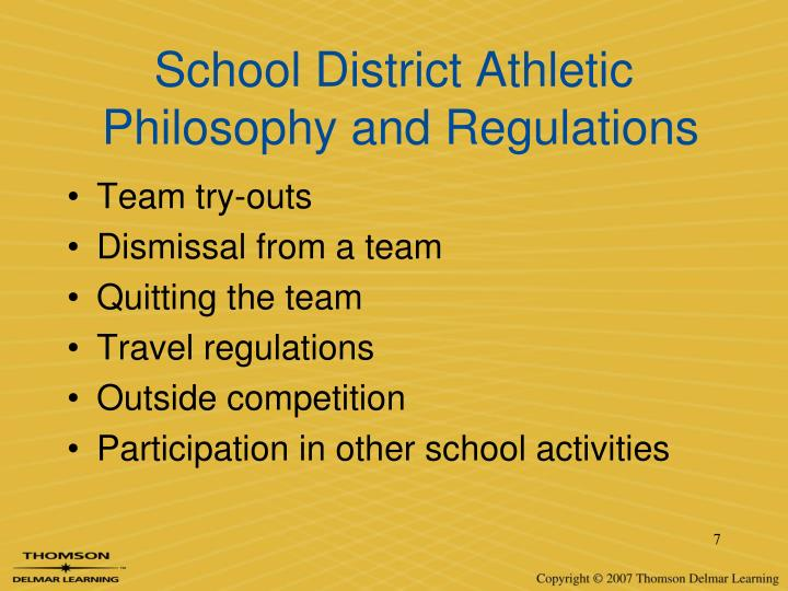 School District Athletic